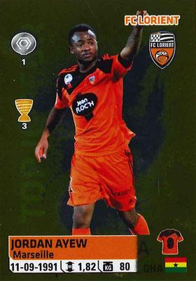2014-15 - Panini Ligue 1 Stickers - N° 192 - Jordan AYEW (FC Lorient)