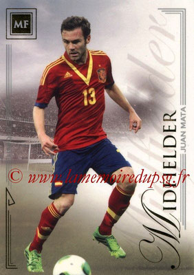 2014 - Futera World Football Unique - N° 048 - Juan MATA (Midfielder)