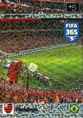 2015-16 - Panini Adrenalyn XL FIFA 365 - N° 303 - Flamengo (12th Man)