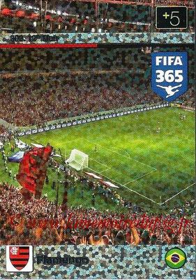 2015-16 - Panini Adrenalyn XL FIFA 365 - N° 303 - Flamengo (12th Man)