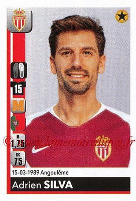 2018-19 - Panini Ligue 1 Stickers - N° T21 - Adrien SILVA (Monaco) (Transfert)