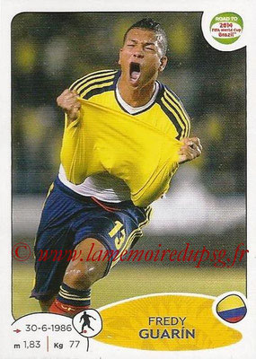 2014 - Panini Road to FIFA World Cup Brazil Stickers - N° 180 - Fredy GUARIN (Colombie)