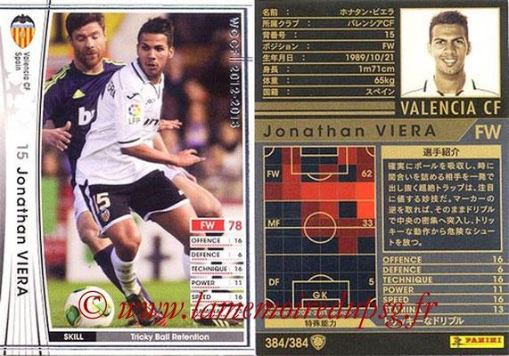 2012-13 - WCCF - N° 384 - Jonathan VIERA (FC Valence)