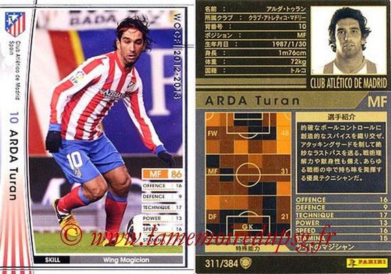 2012-13 - WCCF - N° 311 - Arda TURAN (Atletico  Madrid)