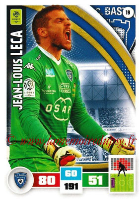 2016-17 - Panini Adrenalyn XL Ligue 1 - N° 019 - Jean-Louis LECA (Bastia)
