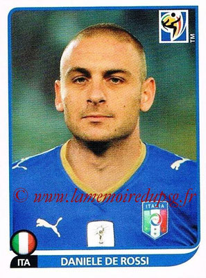 2010 - Panini FIFA World Cup South Africa Stickers - N° 420 - Daniele DE ROSSI (Italie)