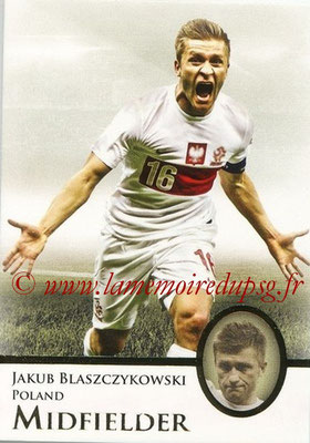 2013 - Futera World Football Unique - N° 033 - Jakub BLASZCZYKOWSKI (Pologne) (Midfielder)