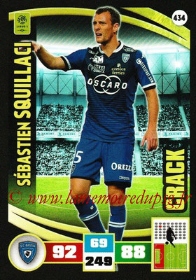2016-17 - Panini Adrenalyn XL Ligue 1 - N° 434 - Sébastien SQUILLACI (Bastia) (Crack)