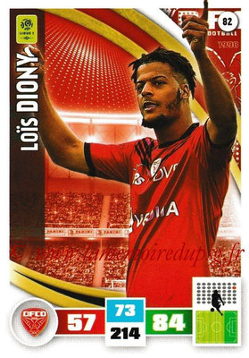2016-17 - Panini Adrenalyn XL Ligue 1 - N° 082 - Loïs DIONY (Dijon)