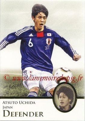 2013 - Futera World Football Unique - N° 029 - Atsuto UCHIDA (Japon) (Defender)