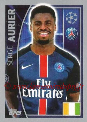 2015-16 - Topps UEFA Champions League Stickers - N° 021 - Serge AURIER (Paris Saint-Germain)