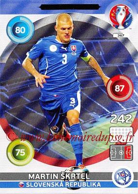Panini Euro 2016 Cards - N° 367 - Martin SKRTEL (Slovenie) (Defensive Rock)