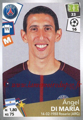 2017-18 - Panini Ligue 1 Stickers - N° 373 - Angel DI MARIA (Paris Saint-Germain)