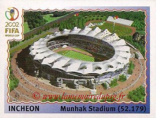 2002 - Panini FIFA World Cup Stickers - N° 010 - Stade Incheon (Munhak Stadium)