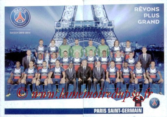 N° 318 et 319 - Equipe PSG