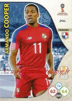 2018 - Panini FIFA World Cup Russia Adrenalyn XL - N° 246 - Armando COOPER (Panama)