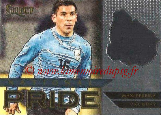 2015 - Panini Select Soccer - N° NP42 - Maxi PEREIRA (Uruguay) (National Pride)