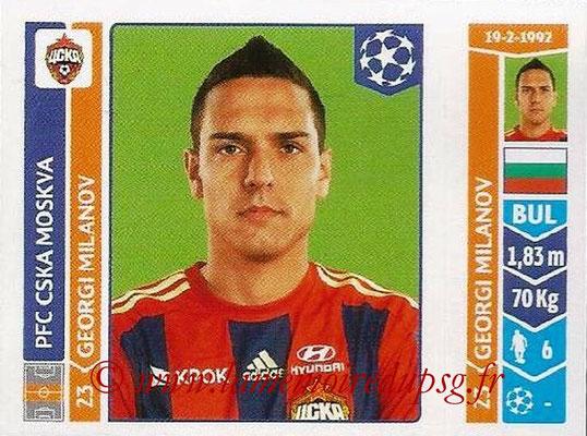 2014-15 - Panini Champions League N° 397 - Georgi MILANOV (PFC CSKA Moscou)