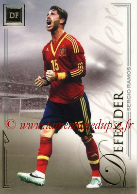 2014 - Futera World Football Unique - N° 027 - Sergio RAMOS (Defender)
