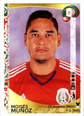 Panini Copa America Centenario USA 2016 Stickers - N° 209 - Moises MUNOZ (Mexique)