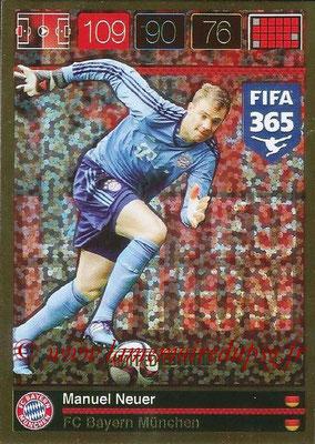 2015-16 - Panini Adrenalyn XL FIFA 365 - N° LE-MN - Manuel NEUER (FC Bayern Munich) (Limited Edition)