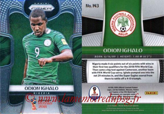 2018 - Panini Prizm FIFA World Cup Russia - N° 143 - Odion IGHALO (Nigeria)