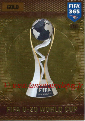 2016-17 - Panini Adrenalyn XL FIFA 365 - N° 012 - Trophée FIFA Coupe du Monde U-20
