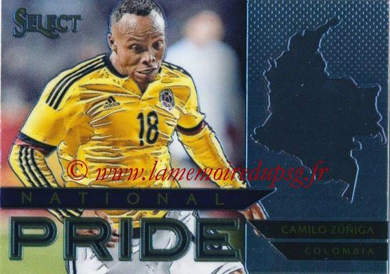 2015 - Panini Select Soccer - N° NP10 - Camilo ZUNIGA (Colombie) (National Pride)