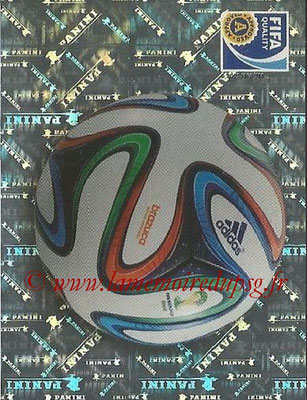 2014 - Panini FIFA World Cup Brazil Stickers - N° 007 - Ballon Officiel