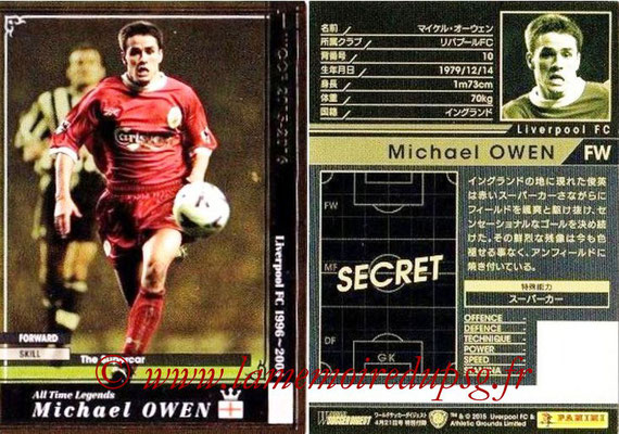 2015-16 - Panini WCCF - N° ATLE-EXT1 - Michael OWEN (Liverpool FC) (Extra)