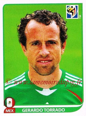 2010 - Panini FIFA World Cup South Africa Stickers - N° 057 - Gerardo TORRADO (Méxique)