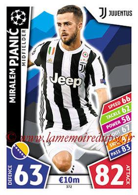 2017-18 - Topps UEFA Champions League Match Attax - N° 372 - Miralem PJANIC (Juventus)
