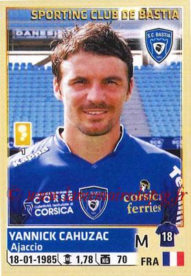 2014-15 - Panini Ligue 1 Stickers - N° 014 - Yannick CAHUZAC (SC Bastia)