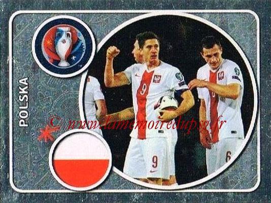 Panini Euro 2016 Stickers - N° 237 - Équipe de Pologne
