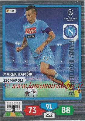 2013-14 - Adrenalyn XL champions League N° 308 - Marek HAMSIK (SSC Napoli) (Fans' Favourite)