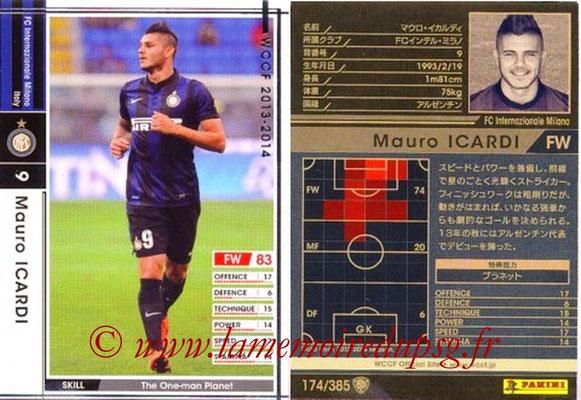 2013-14 - WCCF - N° 174 - Mauro ICARDI (Inter Milan)