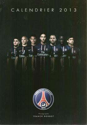 Calendrier PSG 2013