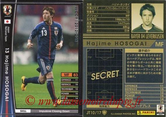2012-13 - WCCF - N° JT10 - Hajime HOSOGAI (Bayer 04 Leverkusen) (Japon)