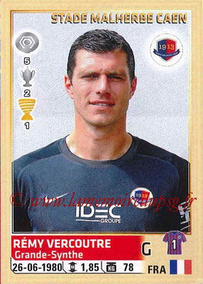 2014-15 - Panini Ligue 1 Stickers - N° 053 - Rémy VERCOUTRE (SM Caen)