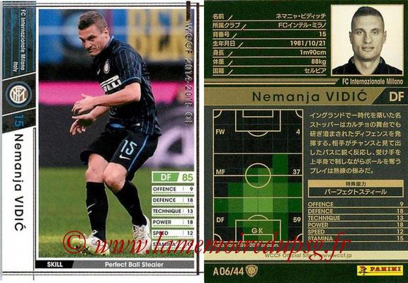 2013-14 - WCCF - N° A06 - Nemanja VIDIC (FC Inter Milan)