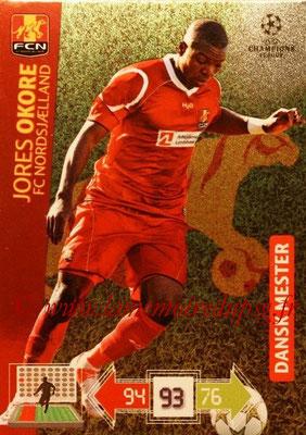2012-13 - Adrenalyn XL champions League N° 361 - Jores OKORE (FC Nordsjaelland) (Dansk Mester)