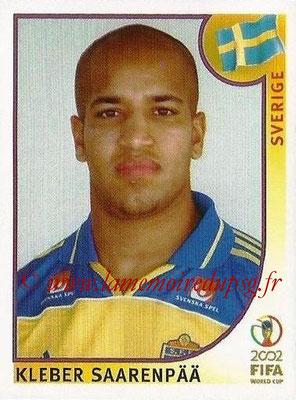 2002 - Panini FIFA World Cup Stickers - N° 446 - Kleber SAARENPÄÄ (Suede)
