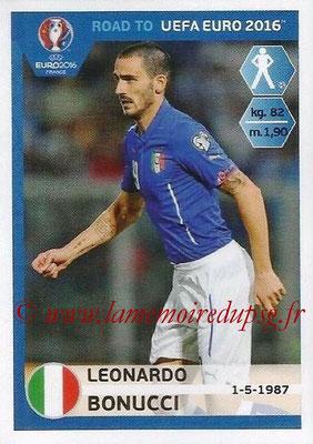 Panini Road to Euro 2016 Stickers - N° 163 - Leonardo BONUCCI (Italie)