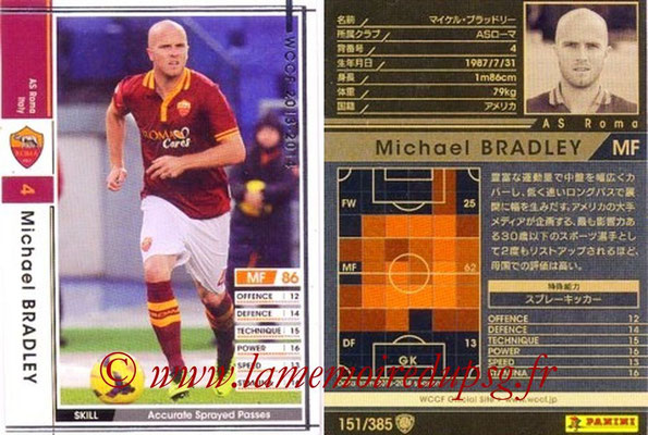 2013-14 - WCCF - N° 151 - Michael BRADLEY (AS Roma)