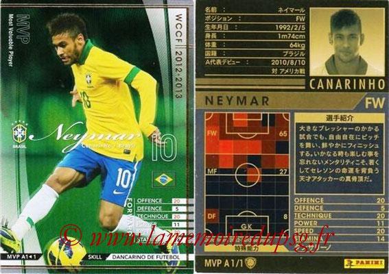2012-13 - WCCF - N° MVP1 - NEYMAR (Brésil)