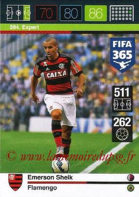 2015-16 - Panini Adrenalyn XL FIFA 365 - N° 284 - Emerson SHEIK (Flamengo) (Expert)