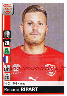 2018-19 - Panini Ligue 1 Stickers - N° 345 - Renaud RIPART (Nîmes)