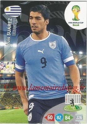2014 - Panini FIFA World Cup Brazil Adrenalyn XL - N° 314 - Luis SUAREZ (Uruguay)