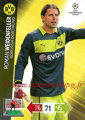2012-13 - Adrenalyn XL champions League N° 070 - Roman WEIDENFELLER (Borussia Dortmund)