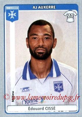 N° 037 - Edouard CISSE (1997-98, 1999-2002 et 2004-07, PSG > 2011-12, Auxerre)